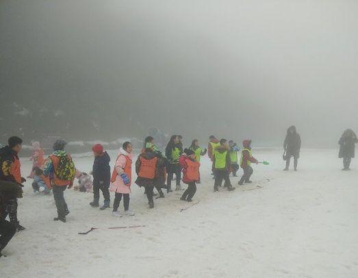 金佛山冬令营精彩集