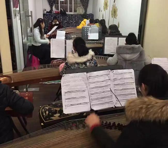 古筝集体课